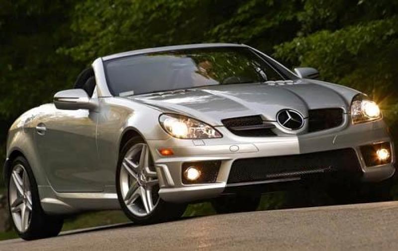 2010 mercedes benz slk class information and photos for Mercedes benz convertible 2010