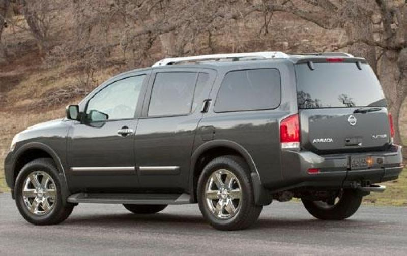 2011 nissan armada information and photos zombiedrive. Black Bedroom Furniture Sets. Home Design Ideas