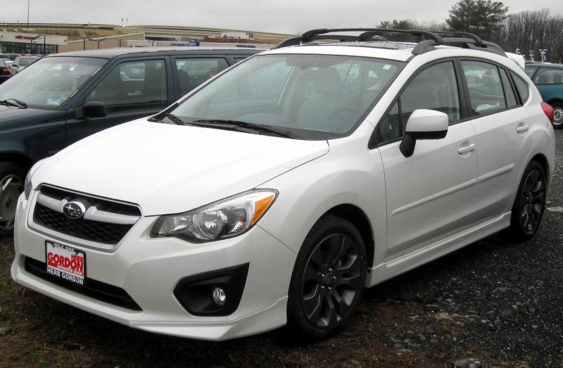 2012 Subaru Impreza Information And Photos Zombiedrive
