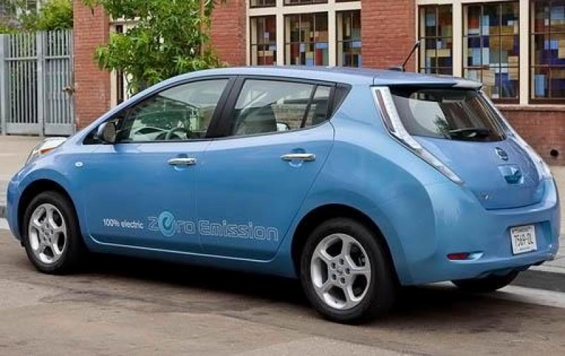 2012 nissan leaf information and photos zombiedrive. Black Bedroom Furniture Sets. Home Design Ideas