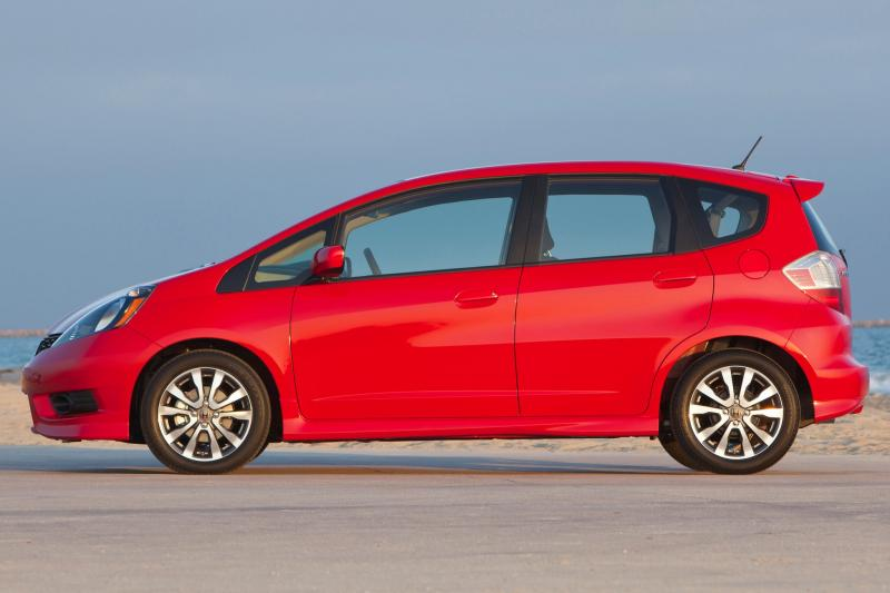 2013 honda fit information and photos zombiedrive. Black Bedroom Furniture Sets. Home Design Ideas