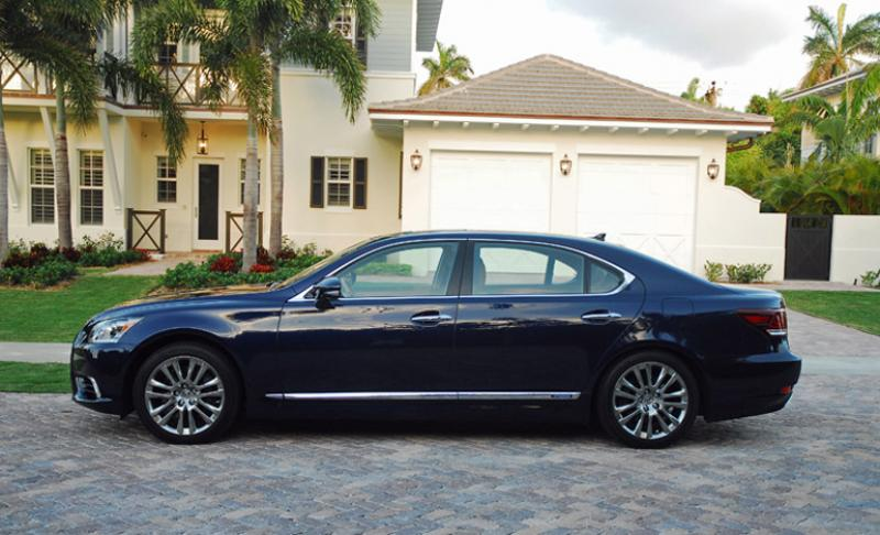 2015 Lexus LS 600h L - Information and photos - ZombieDrive