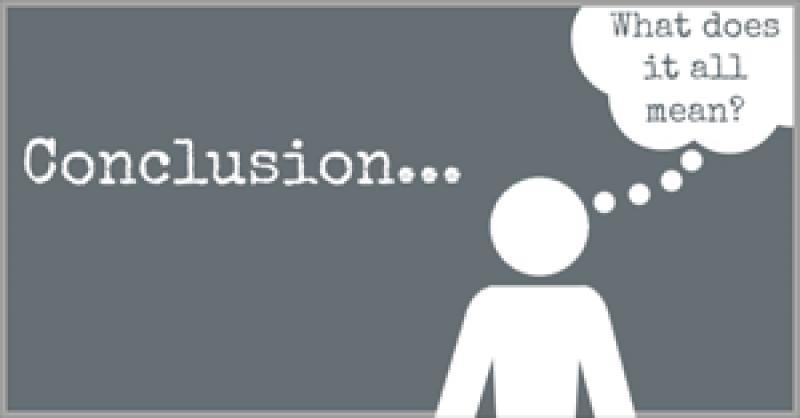 Conclusion dictionary definition - conclusion defined